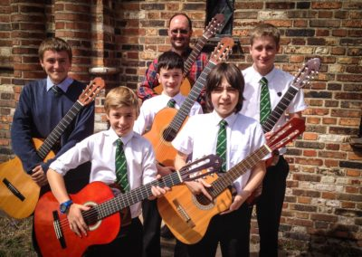 PGS Guitar Ensemble July 2015